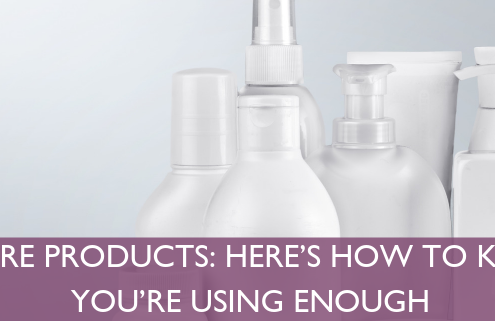 Skin Care Products: How to Know If You're Using Enough